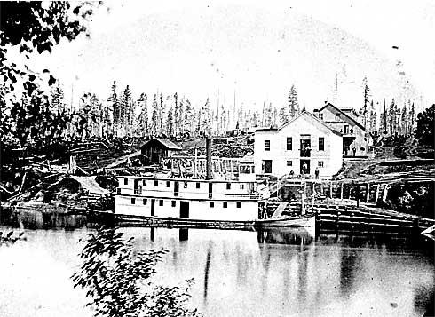 Ferguson Wharf, 1877