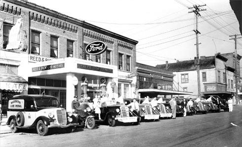 Then: Brunswick Building, 1935
