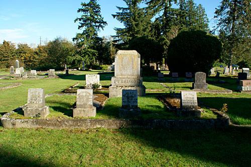 E. C. Ferguson Family plot