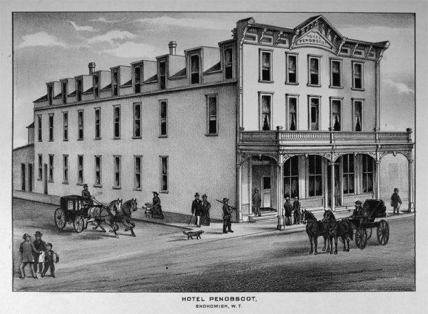 Penobscot Hotel, 1888